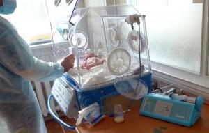 Новый инфузомат в отделение патологии новорожденных